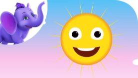 Oh! Mr Sun – Nursery Rhyme with Karaoke