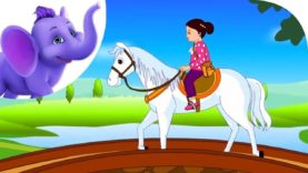 On My Pony – Nursery Rhyme with Karaoke