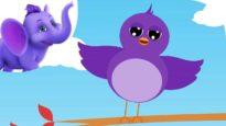 Once I Saw a Little Bird – Nursery Rhyme with Karaoke