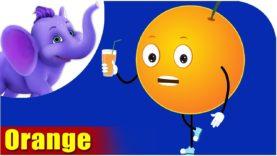 Orange Fruit Rhyme