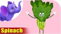 Paalak (Spinach) – Vegetable Rhymes in Marathi