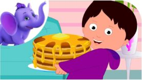 Pancake Day – Nursery Rhyme with Karaoke