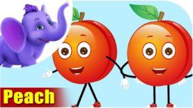 Peach Fruit Rhyme