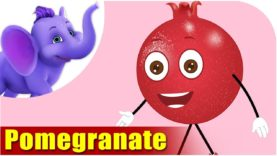 Pomegranate Fruit Rhyme for Children