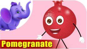 Pomegranate Fruit Rhyme for Children