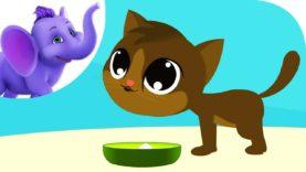 Pussycat ate the Dumplings – Nursery Rhyme with Karaoke