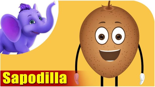 Sapodilla Fruit Rhyme