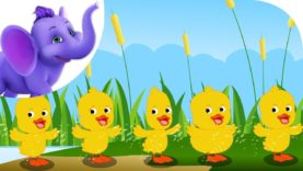 Six Little Ducks – Nursery Rhyme with Karaoke
