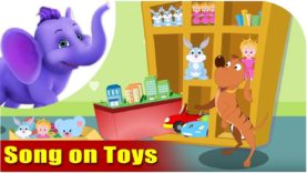 Song on Toys – Five Toys in Ultra HD (4K)