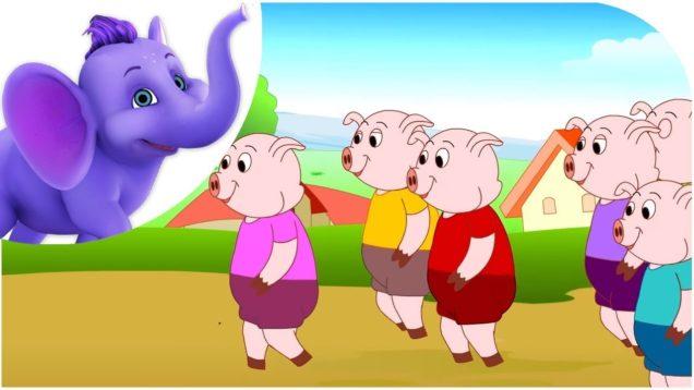 Ten Little Pigs
