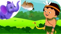 The Boy and the Sparrow – Nursery Rhyme with Karaoke