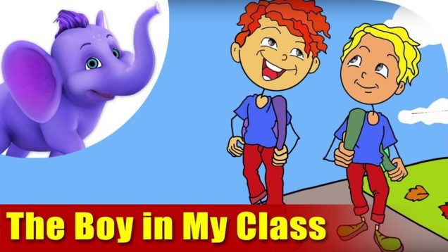 The Boy in My Class (4K) – In Kinetic Typography