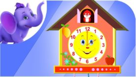 The Clock – Nursery Rhyme with Lyrics