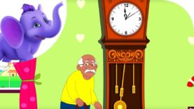 The Grandfather Clock – Nursery Rhyme with Karaoke