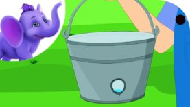 There's a hole in the bucket – Nursery Rhyme with Karaoke