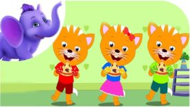 Three Little Kittens – Nursery Rhyme with Karaoke