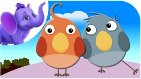 Two Birds – Nursery Rhyme with Karaoke