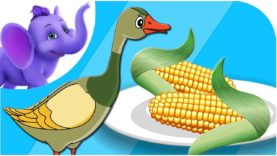 Vintery, Mintery, Cutery Corn – Nursery Rhyme with Karaoke