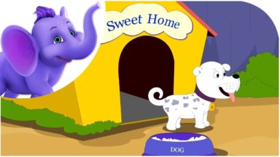 Where has my little dog gone – Nursery Rhyme with Karaoke