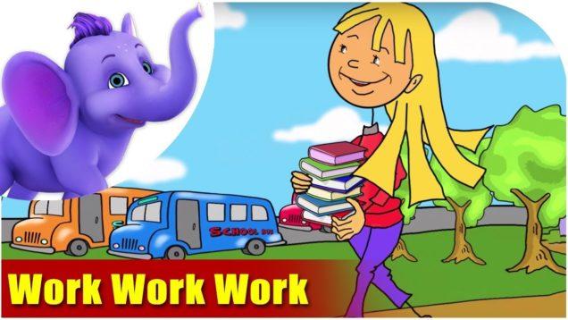 Work Work Work (4K) – In Kinetic Typography