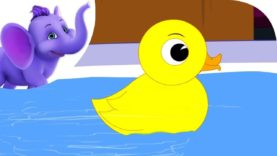 Yellow Ducky – Nursery Rhyme with Karaoke