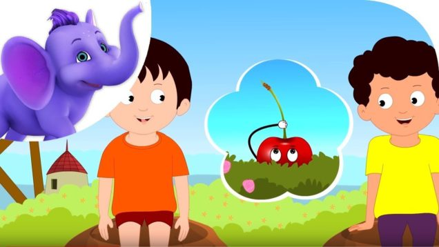 A Cherry Riddle – Nursery Rhyme with Karaoke