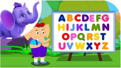 ABC Song – Nursery Rhyme with Karaoke