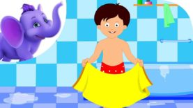 After A Bath – Nursery Rhyme with Lyrics