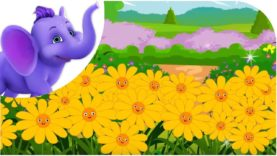 All Flowers are Waking – Nursery Rhyme & Karaoke Version