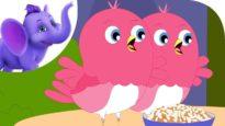 Away, Birds, Away! – Nursery Rhyme with Karaoke