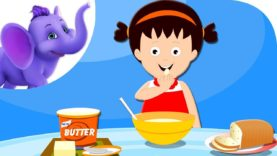 Betty Bought Some Batter Butter – Nursery Rhyme with Karaoke