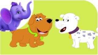 Bow-Wow says the Dog – Nursery Rhyme with Karaoke