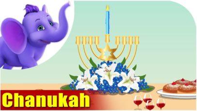 Chanukah (Hanukah) Festival Song 4K