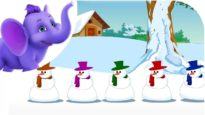Christmas Jingles : Five Tubby Snowmen Nursery Rhyme