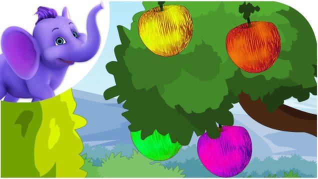 Colorful Apples – Nursery Rhyme with Karaoke