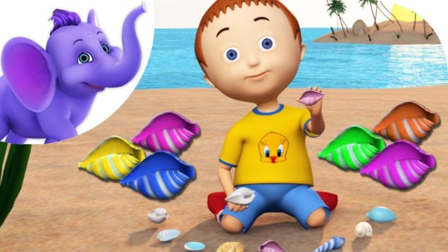Colorful Shells – Nursery Rhyme with Karaoke