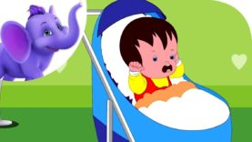Cry Baby Bunting – Nursery Rhyme with Karaoke