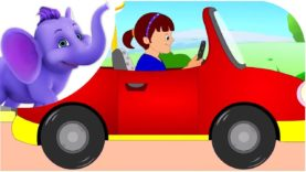 Driving in My Car – Nursery Rhyme