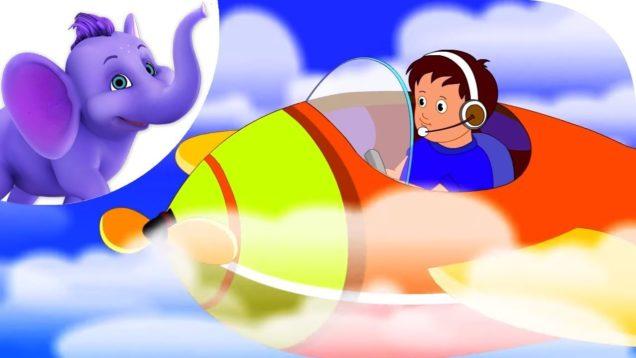 I am a Pilot – Nursery Rhyme with Karaoke