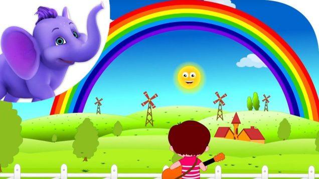 I Can See A Rainbow – Nursery Rhyme with Karaoke