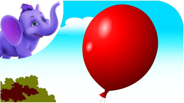 I Lost My Balloon – Nursery Rhyme with Karaoke