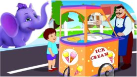 Ice Cream a Penny – Nursery Rhyme with Lyrics & Karaoke