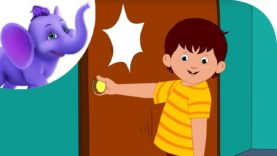 Knock at the Door – Nursery Rhyme with Karaoke