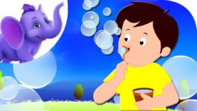 Let's Make Bubbles – Nursery Rhyme with Karaoke Version