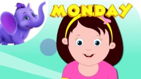 Monday's Child – Nursery Rhyme with Karaoke