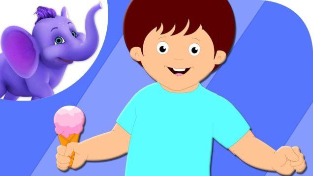 My Ice Cream – Nursery Rhyme with Karaoke