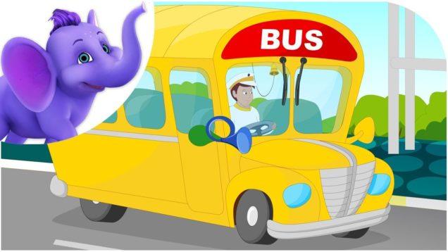 My Yellow School Bus – Nursery Rhyme with Karaoke