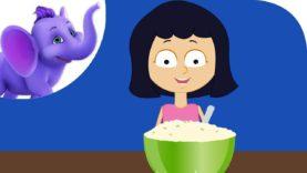 Peas Porridge – Nursery Rhyme with Karaoke