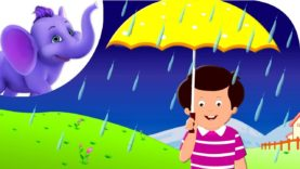 Rain on the Green Grass – Nursery Rhyme with Karaoke
