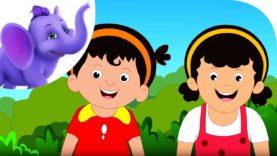 Smiling Girls – Nursery Rhyme with Karaoke
